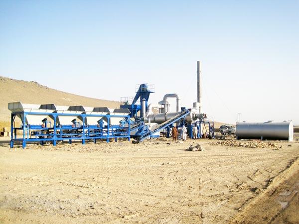 hot mix asphalt plant