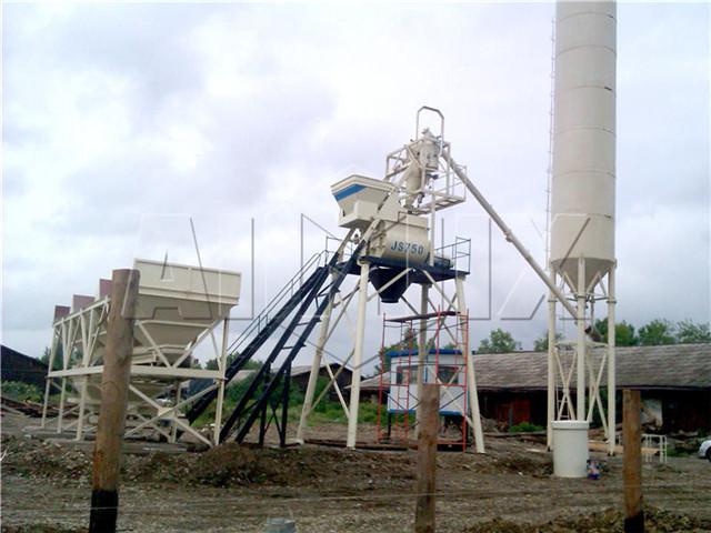Small concrete batch plant for sale