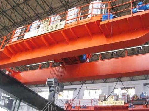50ton overhead bridge crane
